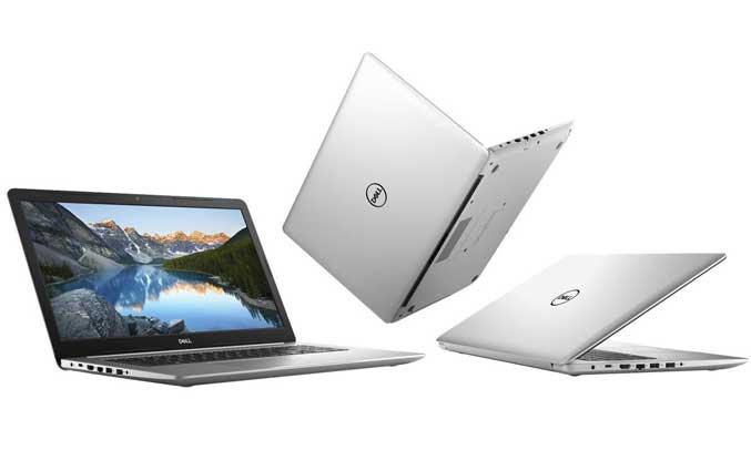 Laptop Dell hỗ trợ đầy đủ các kết nối USB, HDMI, mạng LAN, Wi-Fi,