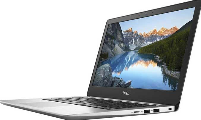 Laptop Dell InspironN5370A - P87G001 được trang bị màn hình 13.3 inch, độ phân giải Full HD