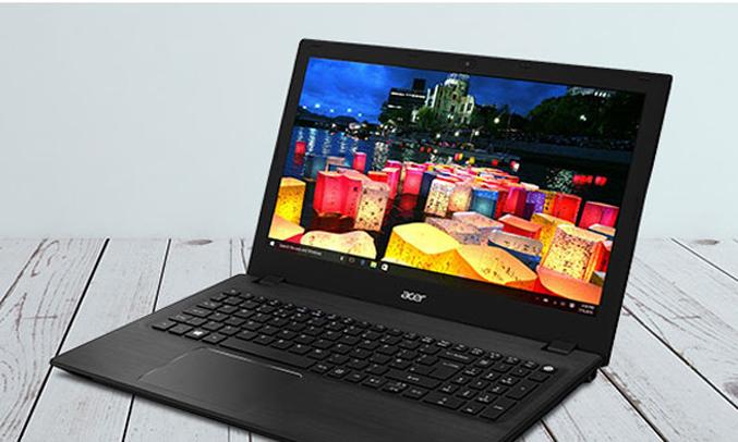 Màn hình laptop Acer Aspire F5 573 33NK hiển thị sắc nét