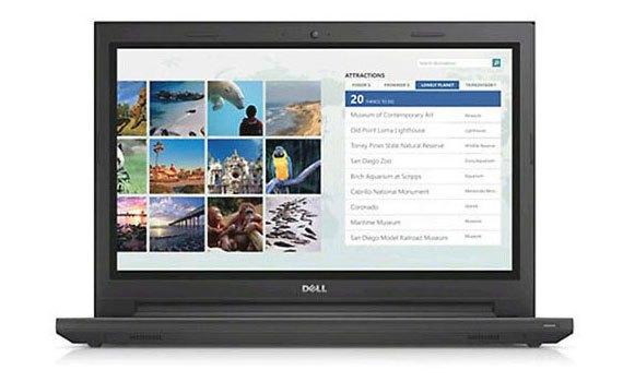 Mua máy tính xách tay Dell Inspiron 14 3442 trả góp không lãi suất