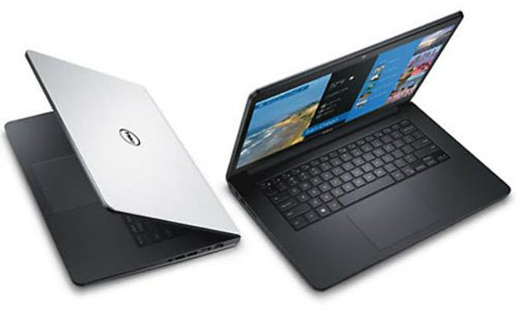 Thiết kế laptop Dell Inspiron 14 5448 nhỏ gọn dễ mang theo