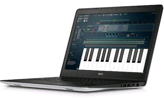 Màn hình laptop Dell Inspiron 15 5548 hiển thị sắc nét