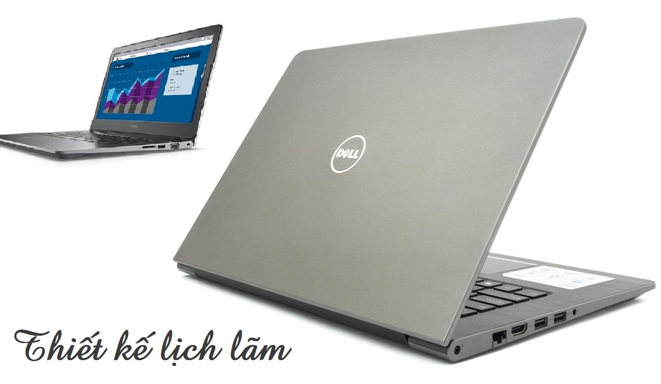 Thiết kế laptop Dell Vostro 14-5468 70087067 nhỏ gọn, lịch lãm