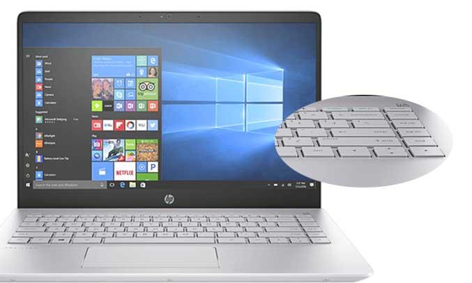 Máy tính xách tay HP Pavilion 14-BF116TU 3MS12PA có bộ vi xử lý mạnh mẽ