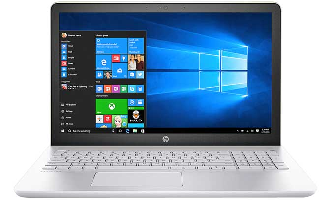 Máy tính xách tay HP Pavilion 15 CC136TX - 3CH62PA có kiểu dáng trẻ trung