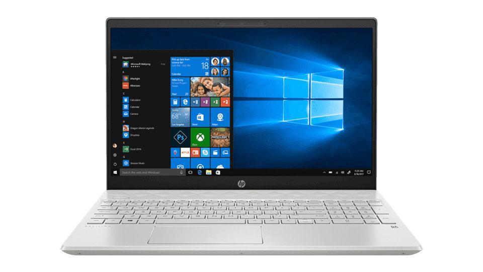 Laptop HP Pavilion 15-CS3015TU (8QP15PA) Màn hình viền mỏng sắc nét