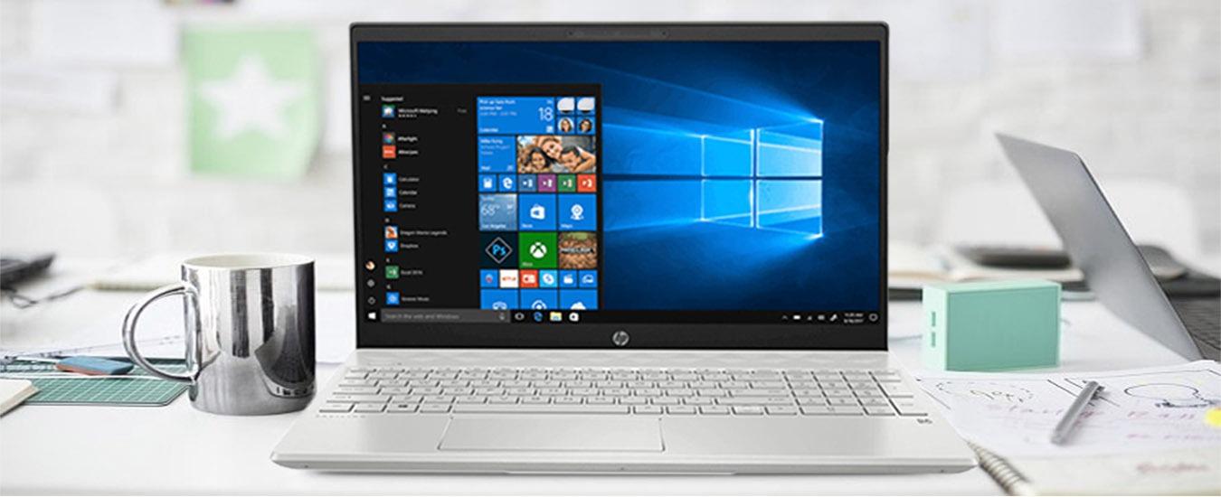 Laptop HP Pavilion 15-CS3015TU (8QP15PA) Thiết kế hiện đại tinh tế