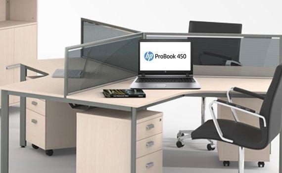 Thiết kế laptop HP ProBook 450 G3 T9S18PA gọn gàng