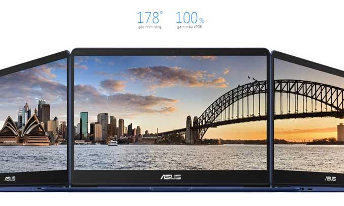 áy tính sở hữu màn hình 14 inch hiển thị hình ảnh sắc nét Full HD