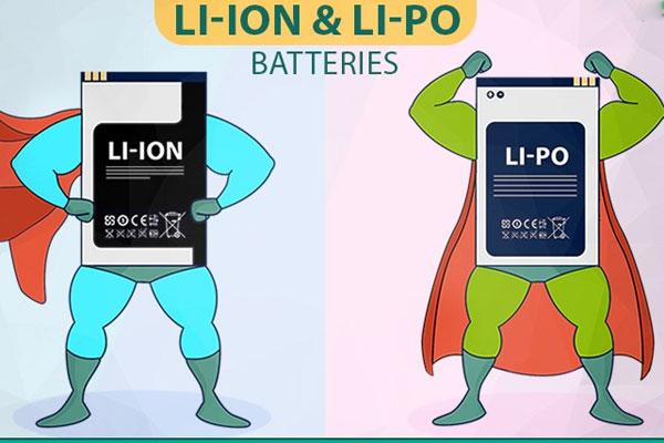 Lithium-ion (Li-on) và lithium-polymer (Li-Po) là 2 loại pin được dùng nhiều nhất cho laptop hiện nay