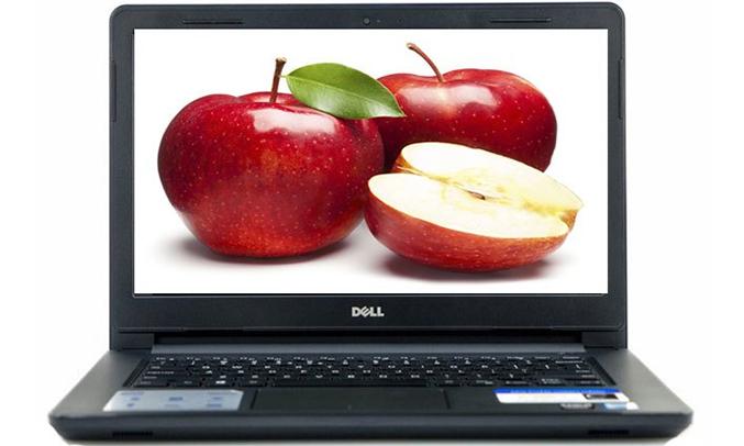 Máy tính xách tay Dell Inspiron N3467 (N3467A-P76G002) màn hình sắc nét