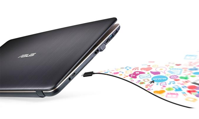 Máy tính xách tay Asus VivoBook Max X541UA (GO1345) đầy đủ kết nối