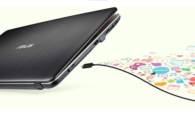 Laptop X441UA-GA070(DGW) kết nối đa dạng