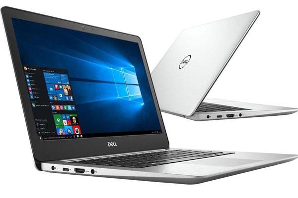Thiết kế hiện đại cùng màu sắc tinh tế giúp laptop Dell gây ấn tượng thẩm mỹ mạnh mẽ cho người dùng