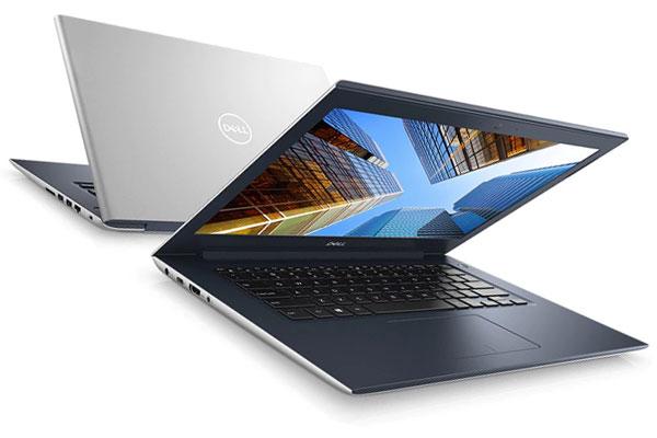 Laptop Dell Vostro có 2 màu thời trang bạc và hồng, cho người dùng dễ dàng lựa chọn theo cá tính