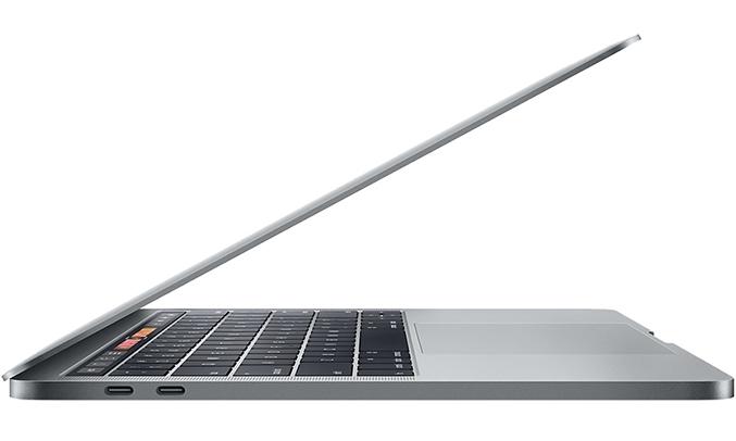 Macbook Pro 13 inch 2017 (256GB/3.1GHZ/Touchbar) thao tác nhanh