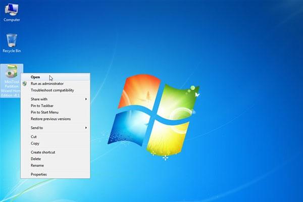 Mở phần mềm lên sau khi đã tải xong.