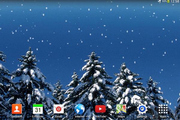 Bạn có thể tự tải về những màn hình tương tự trên mạng và thay vào desktop là xong