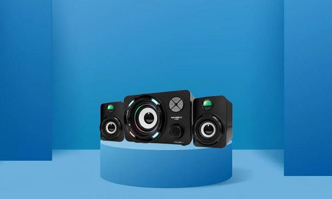 Loa vi tính Soundmax A-600 - Thiết kế