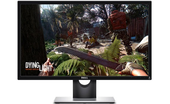 Màn hình máy tính Dell SE2417HG hiển thị sắc nét