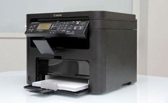 Máy in laser Canon MF221D được thiết kế cứng cáp