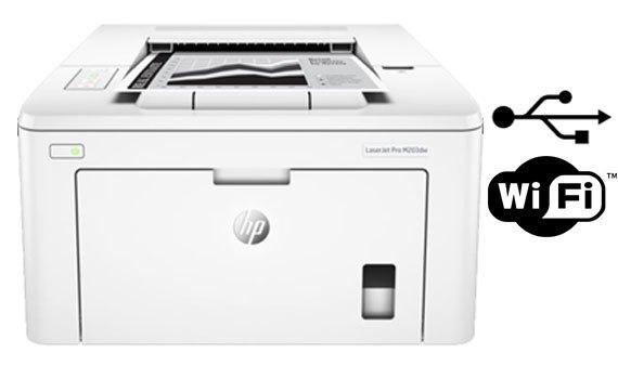 Máy in laser HP Laserjet Pro M203DW - G3Q47A hạn chế tình trạng kẹt giấy