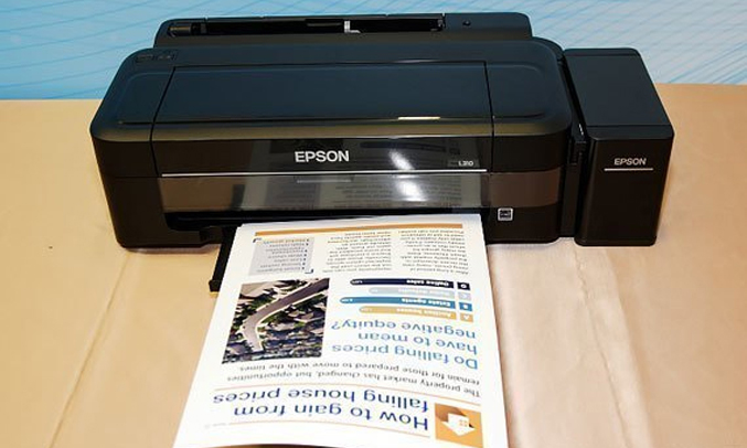 Máy in phun Epson L310 in nhanh