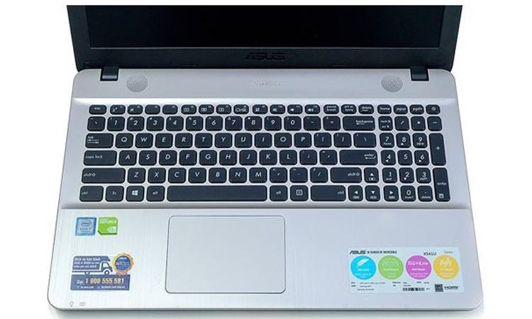 Máy tính xách tay Asus X541UJ-DM143 (Core I7/RAM 8GB) sở hữu bàn phím cực chuẩn