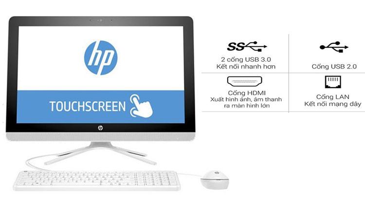 Máy tính để bàn (PC) 22-B201D kết nối nhanh chóng