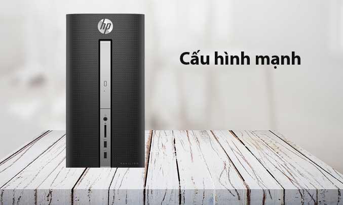 Máy tính để bàn HP Pavilion 570 P078L - 2CC50AA ổ cứng lưu trữ nhiều dữ liệu