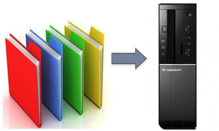 Máy tính để bàn Lenovo 510S-08IKL (90GB007MVN) dung lượng lưu trữ thoải mái