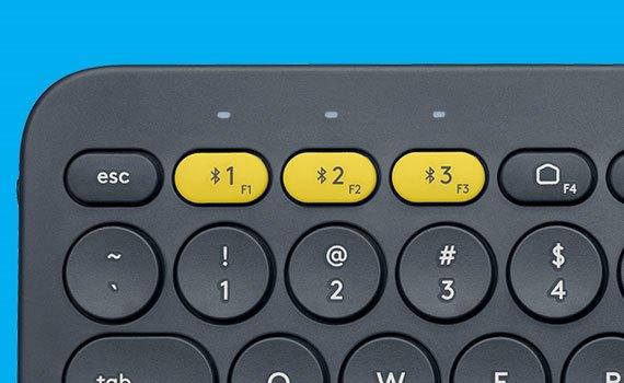 Bàn phím Logitech K380 kết nối được với nhiều thiết bị khác nhau