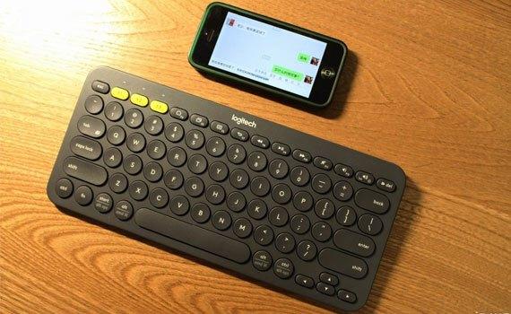 Bàn phím Bluetooth Logitech K380 hỗ trợ kết nối Bluetooth nhanh chóng