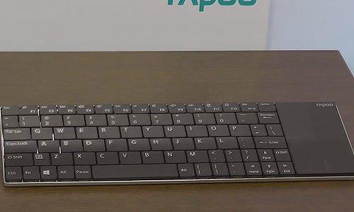 Bàn phím không dây Rapoo E2710 kết hợp touchpad tiện dụng