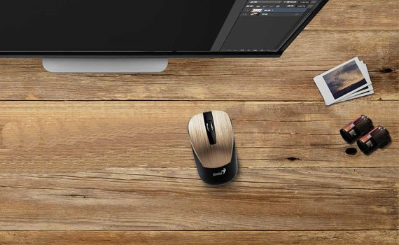 Chuột không dây Genius NX 7015 kết nối khoảng cách xa