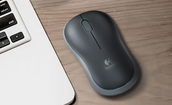 Chuột máy tính không dây Logitech B175 tương thích nhiều thiết bị