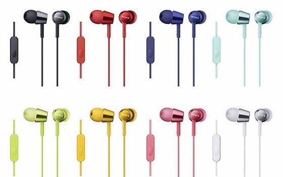 Tai nghe Sony MDREX150AP trắng cho chất lượng âm thanh tốt