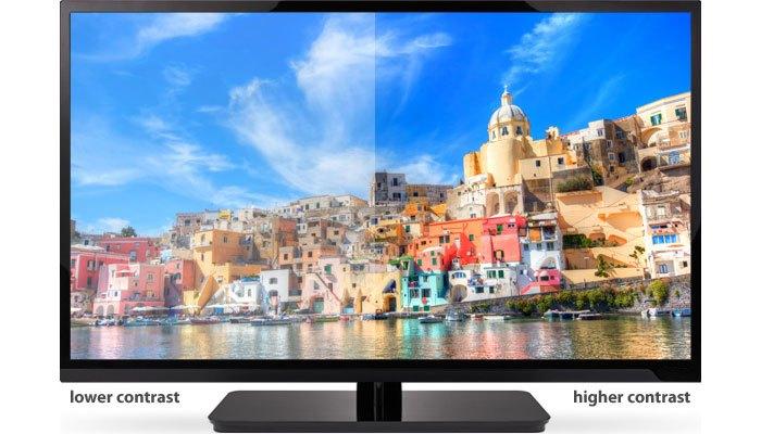 Độ tương phản cao cho hình ảnh sống động hơn trên màn hình vi tính