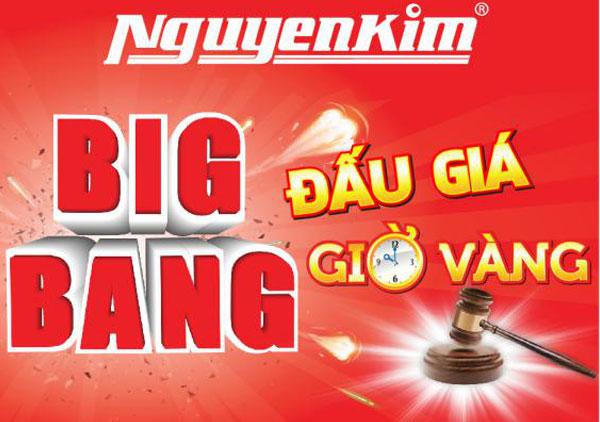 """Tất cả khách hàng đến tham quan và mua sắm tại các TTMS Nguyễn Kim diễn ra chương trình """"Đấu giá giờ vàng"""" đều được tham gia"""