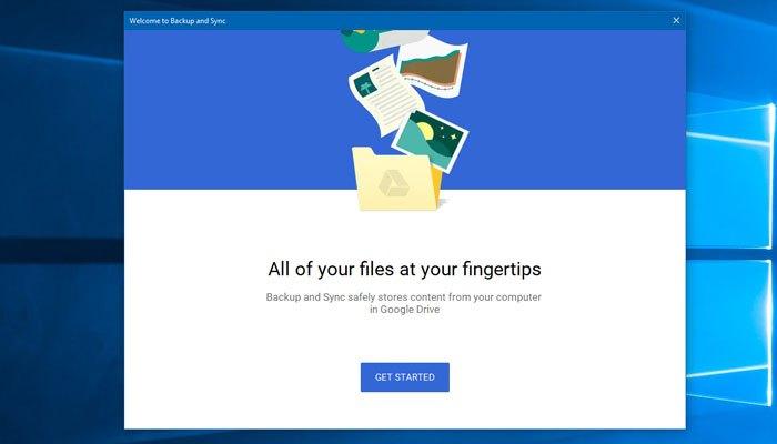 Ứng dụng Backup and Sync sẽ thay thế cho Google Drive