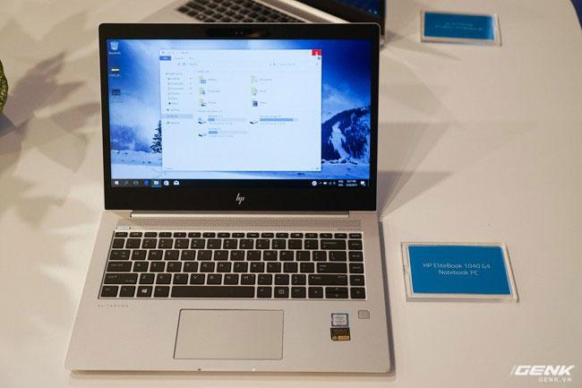 HP EliteBook 1040 G4 sở hữu vẻ ngoài mỏng, nhẹ dành cho đối tượng doanh nghiệp