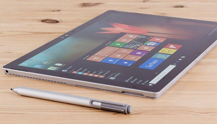 Theo tin đồn máy tính bảng Surface Pro 5 có màn hình tuyệt hảo
