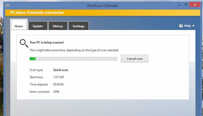 Diệt virus để máy tính chạy nhanh