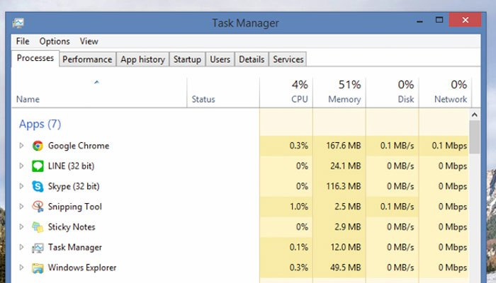 Tắt phần mềm chạy ẩn để máy tính chạy nhanh
