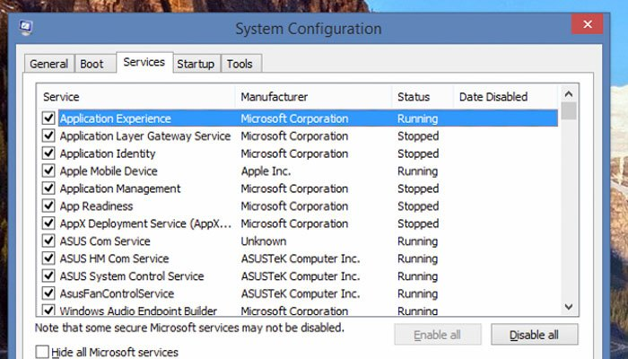 Giảm các phần mềm để máy tính chạy nhanh