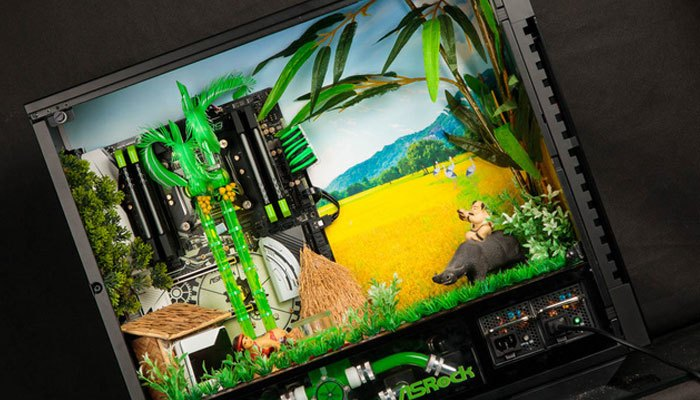 Bộ máy tính khắc họa hình ảnh Việt Nam cực đẹp