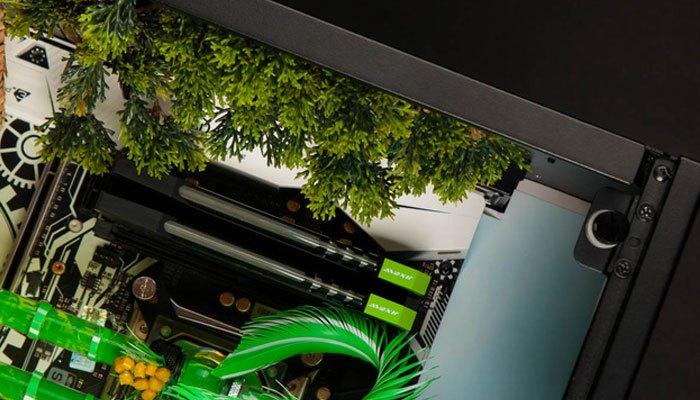 Các chi tiết của bộ máy tính được thiết kế kỹ lưỡng
