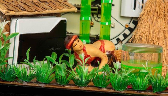 Hình ảnh người phụ nữ khắc họa trên máy tính