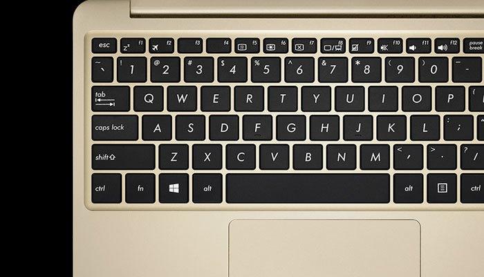 Máy tính xách tay Asus E200HA có bàn phím êm ái, hiện đại