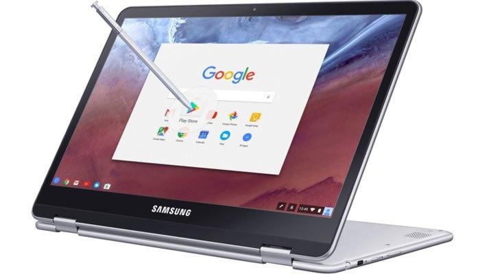 Máy tính xách tay Samsung Chromebook sẽ được đi kèm thêm bút số hóa